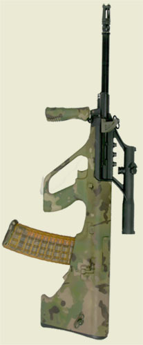 MultiCam STG 556 AUG Rifle