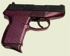 Purple Carbon Fiber KelTec P11