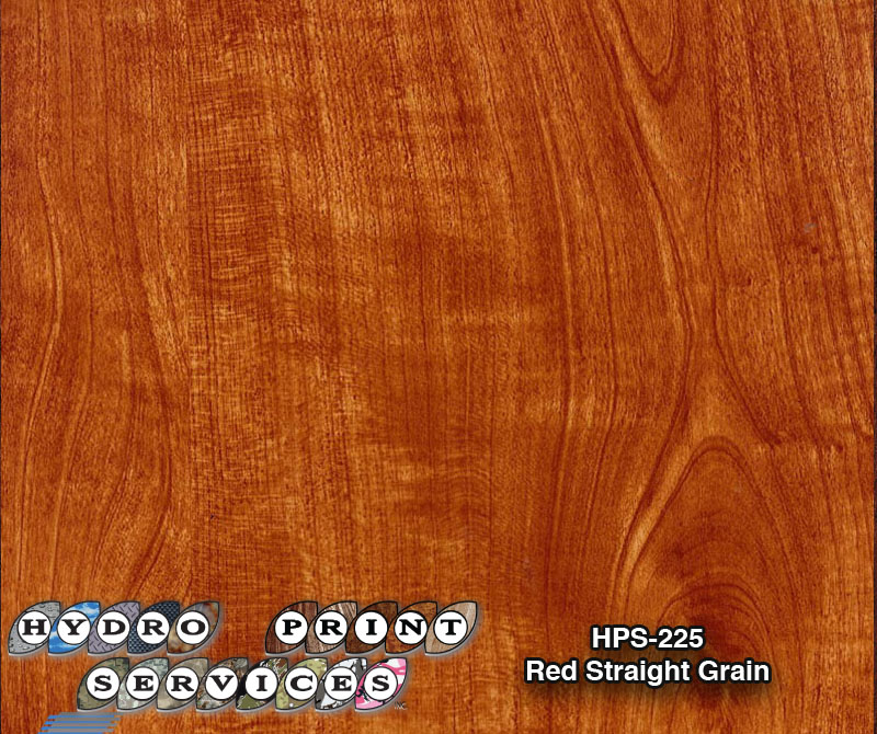 HPS-225 Red Straight Grain