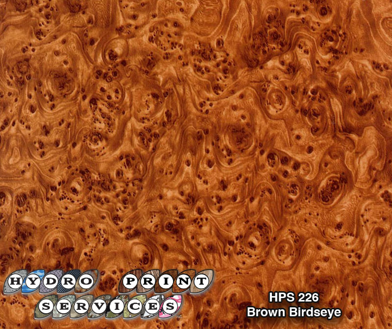 HPS-226 Brown Bridseye