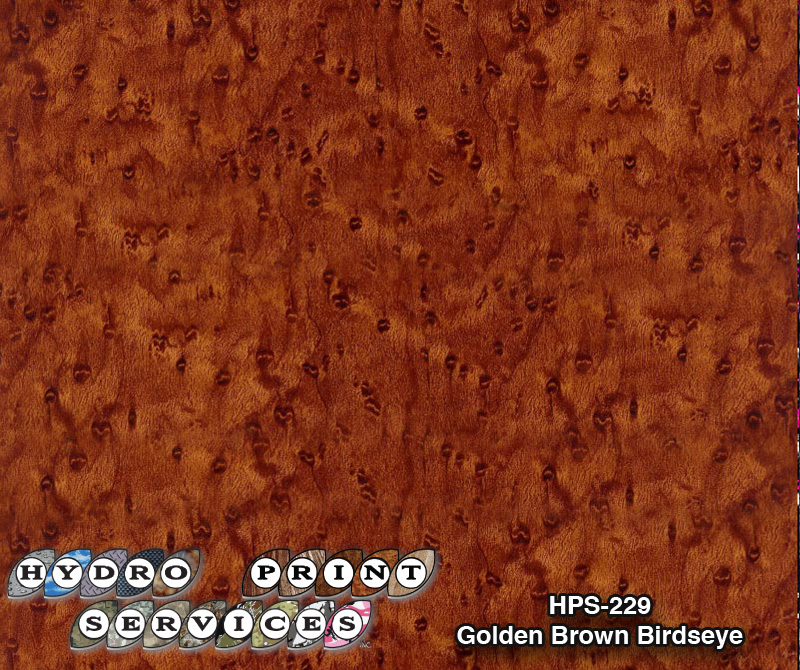 HPS-229 Golden Brown Birdseye