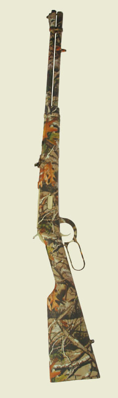Lever Action Rifle in Vista Camo